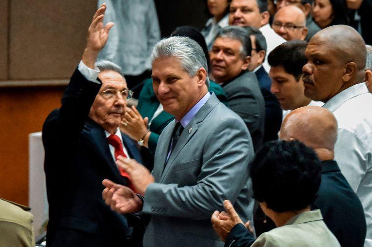 De nieuwe Cubaanse president Miguel Díaz-Canel. Beeld AFP