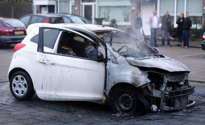 De autobrand is de tweede in 3 weken tijd