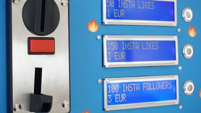 Insta-beroemd voor enkele euro's: Belg maakt automaat die nepvolgers verkoopt op sociale media