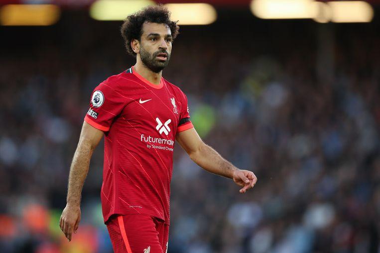 Mo Salah. Beeld Getty Images