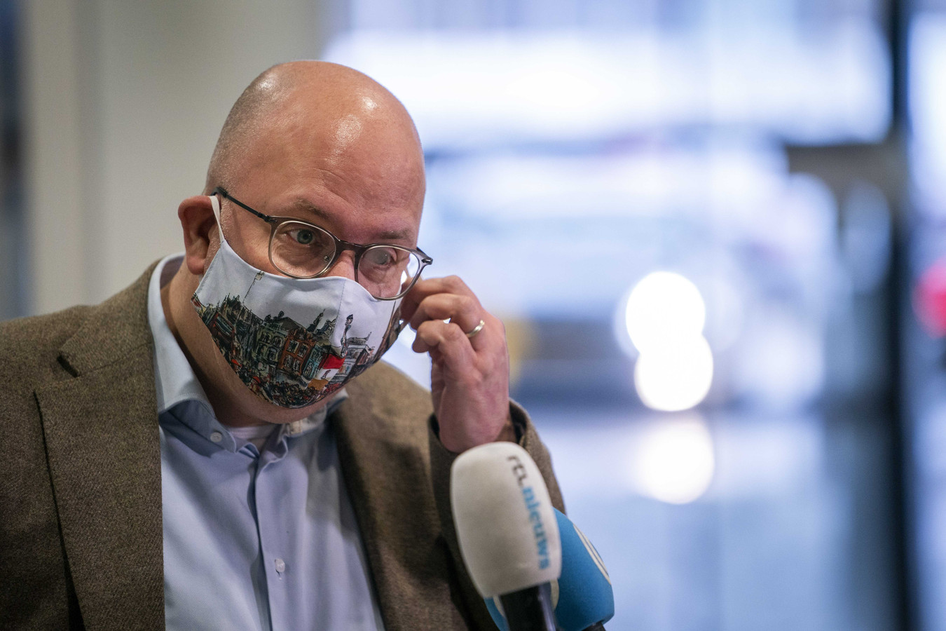 Burgemeester Jack Mikkers van Den Bosch.