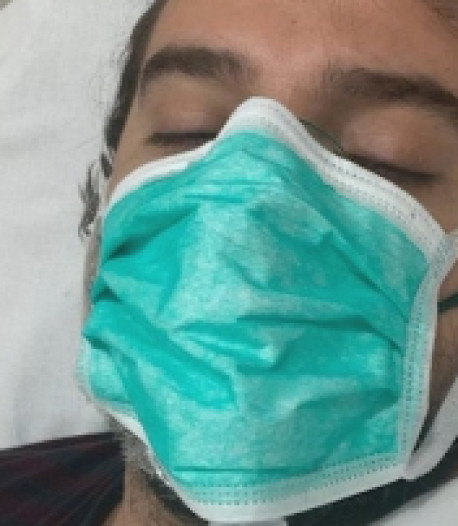 """Un Italien de 33 ans frôle la mort après avoir contracté le Covid-19: """"Je ne pensais pas que cela pouvait me toucher"""""""