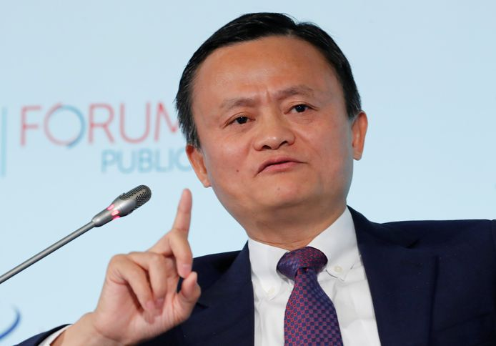 Alibaba-baas Jack Ma.