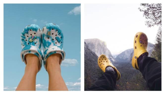 POLL. Top of flop? Hoewel Crocs een reputatie hebben als lelijke schoen, waren ze nog nooit zo populair