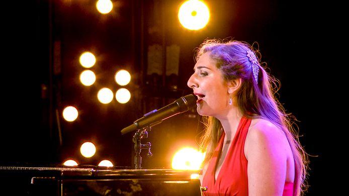 Daisy tijdens haar auditie voor BGT
