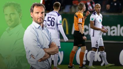 """Onze chef voetbal ziet de lichten nog branden in Neerpede: """"Hè hè, de mannen speelden voor hun geplaagde player/manager"""""""