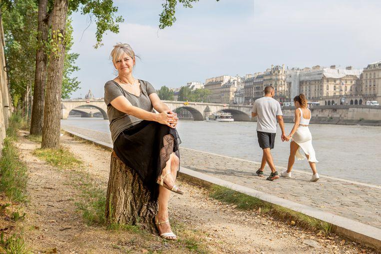 Catherine Fieschi: 'De klimaatcrisis is een kans om samen te komen, schouder aan schouder. Je moet het klimaatbeleid wat heroïek meegeven.' Beeld Pauline Niks
