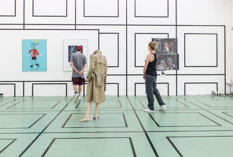 W139 in de Warmoesstraat is een tentoonstellingsruimte voor actuele kunst. Beeld Eva Plevier