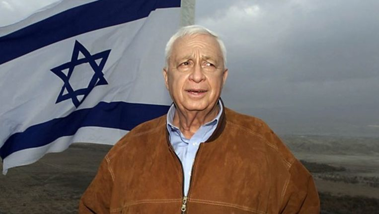 Ariel Sharon in 2001. Beeld epa