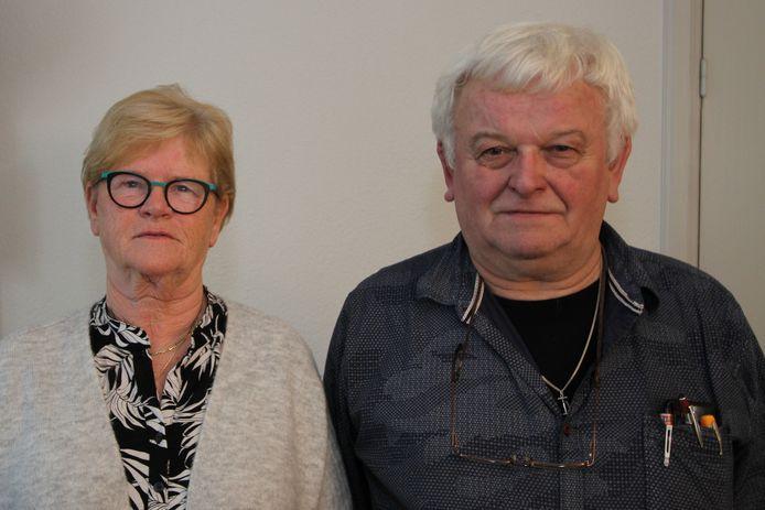 Gouden echtpaar Els en Jan van der Meeren-Feijen.