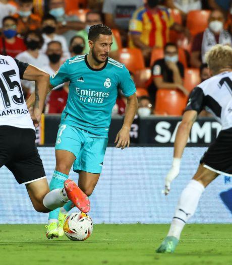 Le Real renverse Valence en fin de match et reste leader