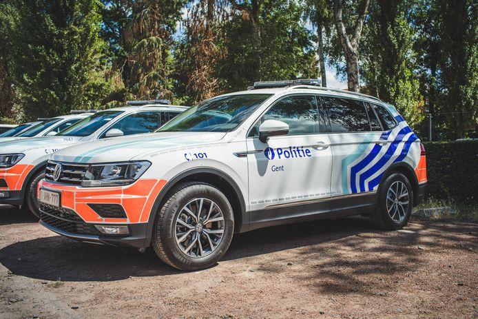Illustratiebeeld van een Volkswagen Tiguan die door de Gentse politie in 2019 in gebruik werd genomen.