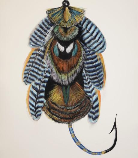Alien in een mantel van hermelijn
