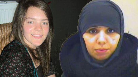 Tatiana Wielandt (27) en haar schoonzus Bouchra Abouallal (26).