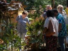 Minder gezichten op Bloem & Tuin maar wel met een tevreden blik