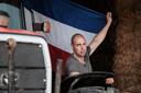 Herbert te Selle heeft de Nederlandse vlag al omgekeerd aan zijn trekker geknoopt. Als teken van protest.