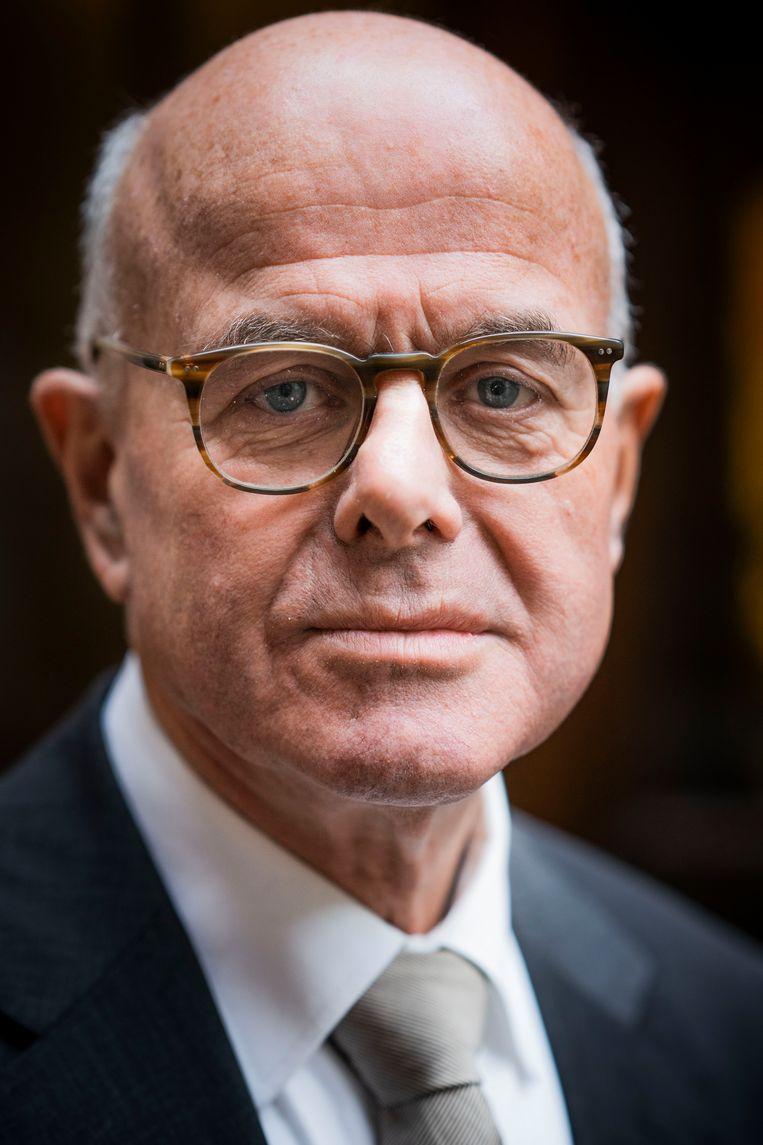 Oud-topambtenaar Hans Borstlap spreekt, als het om flexwerk gaat, onomwonden van 'een nieuwe sociale kwestie'.   Beeld Freek van den Bergh / de Volkskrant