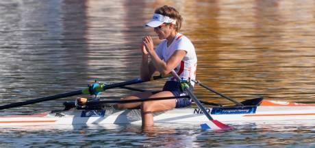 Wierdense titelverdedigster Veldhuis grijpt op EK roeien net naast medaille