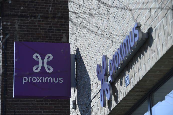 Une boutique Proximus à Genval.
