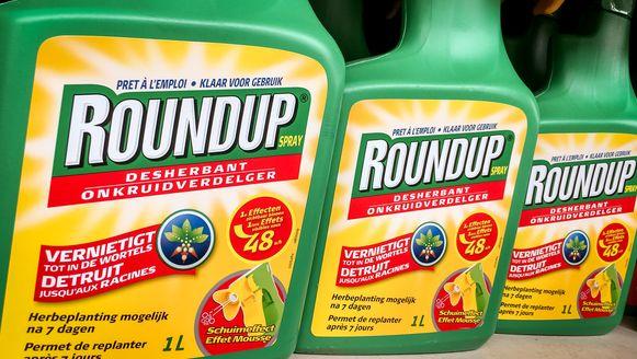 Roundup is een van de bekendste onkruidverdelgers die glyfosaat bevatten.