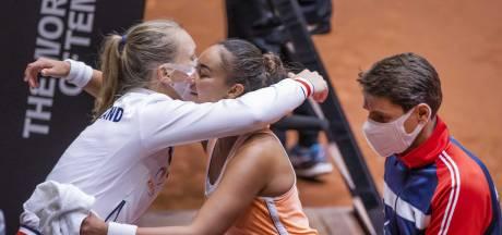 Lesley Pattinama-Kerkhove cijfert zichzelf weg voor Nederlandse tenniszege