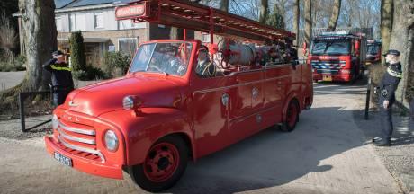 Indrukwekkend afscheid van brandweerman Martijn (34) uit Dedemsvaart