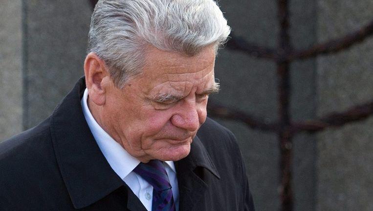 Joachim Gauck. Beeld epa