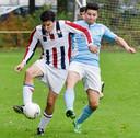 De amateurs van Willem II spelen - uiteraard - ook in het rood-wit-blauw.
