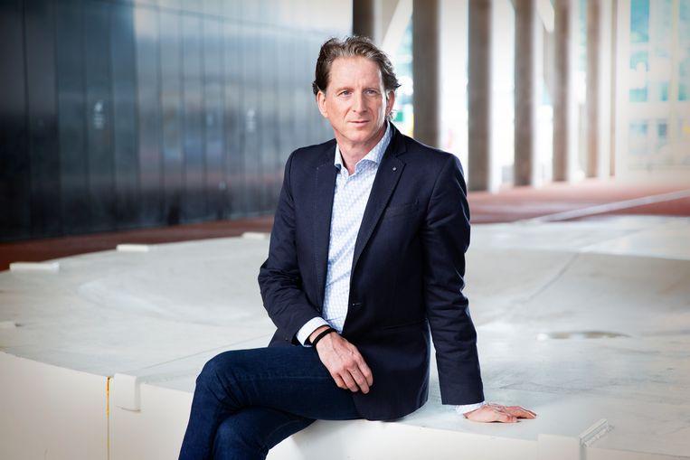 Ron Rozendaal is als directeur informatiebeleid van het ministerie van Volksgezondheid verantwoordelijk voor de ontwikkeling van de corona-app. Beeld Privebeeld