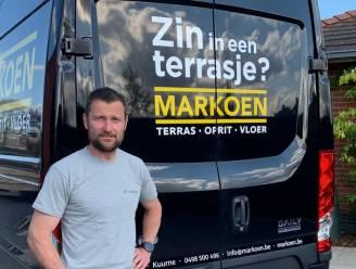 Tuinaannemer Markoen krijgt al hele lockdown enthousiaste reacties op de baan: 'Ik wist in het begin niet goed waarom andere chauffeurs altijd maar 'JA!' naar mij riepen'