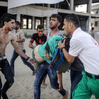 Geweldsuitbarsting tussen Israël en Hamas in Gaza, bombardementen en korteafstandsraketten