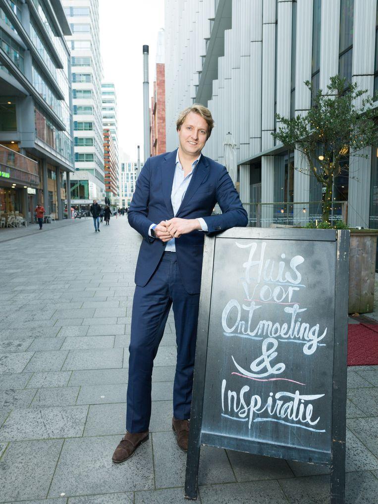 Dominee en ondernemer, Ruben van Zwieten, de oprichter van De Nieuwe Poort. Beeld Ivo van der Bent
