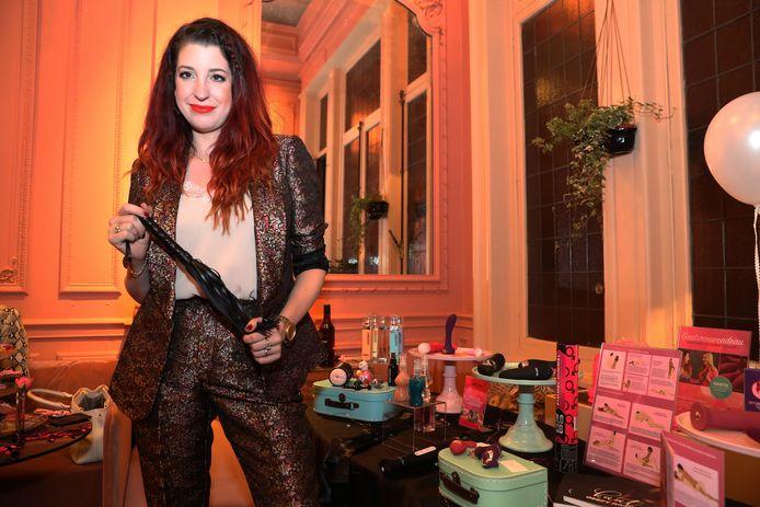 Kaat Bollen op haar evenement 'Ladies Night'