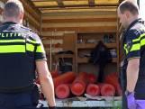 Gasflessen voor drugslab gevonden in gestolen vrachtwagen in Tilburg
