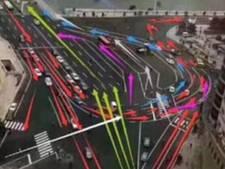 Is dit het grootste en irritantste verkeersknooppunt ter wereld?