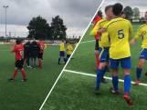 Vier keer rood binnen één minuut: Brabantse amateurvoetballers ruziën wat af