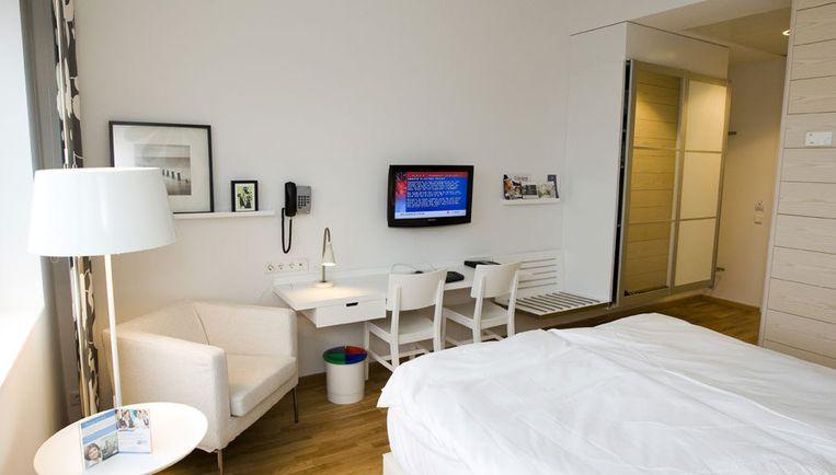 De 'hotelkamercontroles' lijken de gemeente vooralsnog de manier om in de praktijk te controleren of een escortbureau malafide is. Foto ANP Beeld