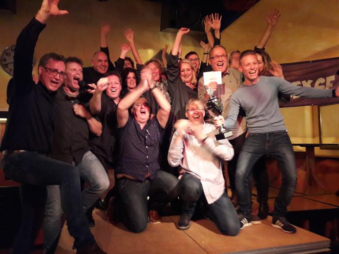 Team De Bruin & Co was vorig jaar de winnaar van de eerste Groesbeekse Kwis.