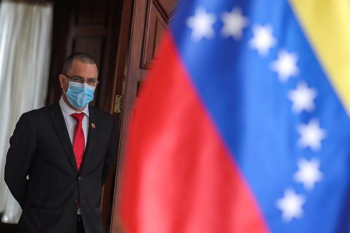 Le ministre vénézuélien des Affaires étrangères Jorge Arreaza