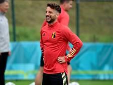 Dries Mertens a repris l'entraînement collectif avec Naples