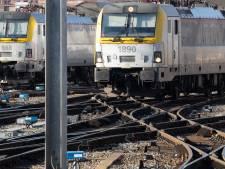 Une personne heurtée par un train à Bruxelles: la circulation a repris normalement