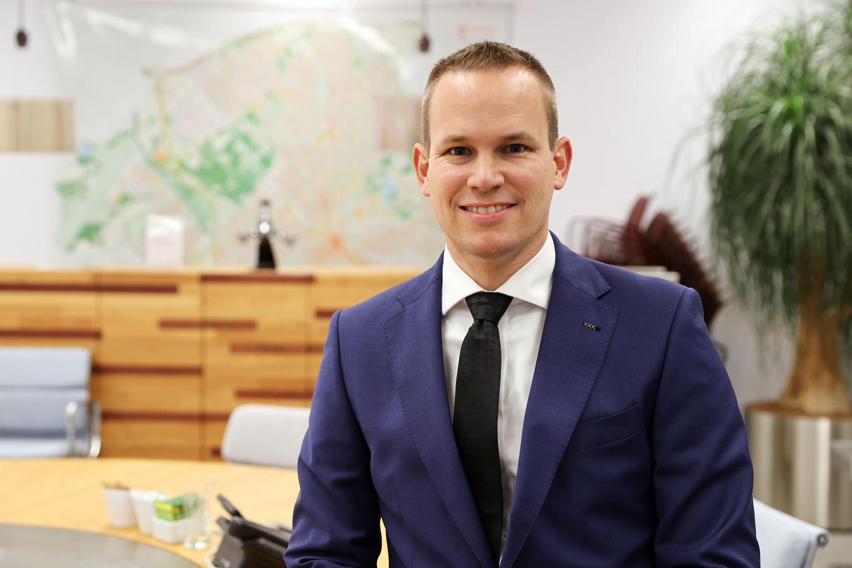 Wethouder Joost de Jong