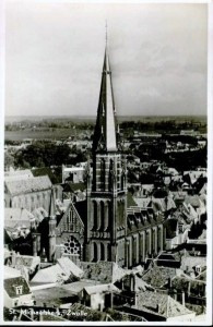 De Sint-Michaëlskerk is Zwolle. bron: www.mooistegeslooptekerk.nl