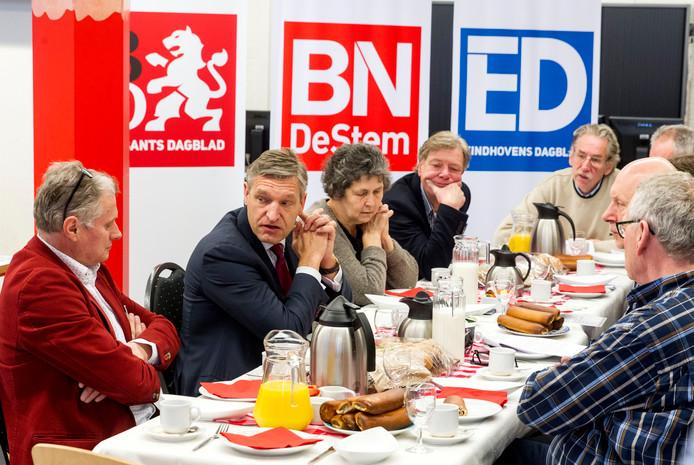 Sybrand Buma bij het ED in Eindhoven.