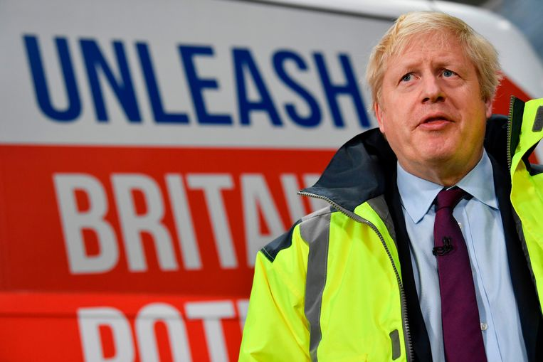 Brits premier Boris Johnson. Beeld AFP