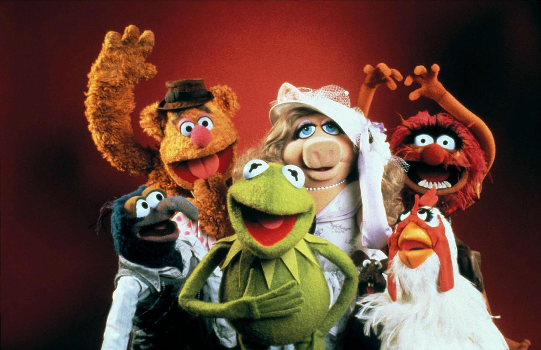 The Muppets, van wie Kermit de kikker en Miss Piggy de meest iconische personages zijn.  Beeld Alamy Stock Photo