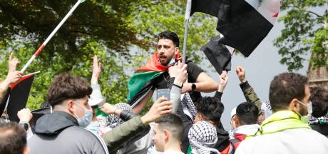 Burgemeester Bruls stuurt demonstranten weg na rustig verlopen pro-Palestina-actie: 'De sfeer dreigde om te slaan'