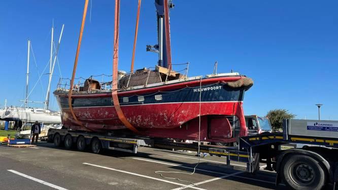 """Restauratie van iconische reddingsboot Watson II gestart: """"Opnieuw vaargeschikt maken en inzetten als toeristische trekpleister"""""""