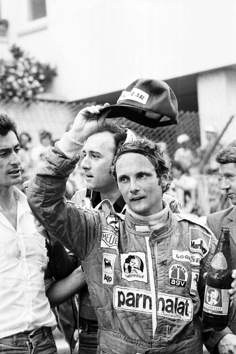 In 1976, tijdens de Grote Prijs van Monte Carlo.