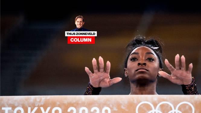 Column Thijs Zonneveld   Simone Biles is zeldzaam moedig: ze had ook een blessure kunnen faken